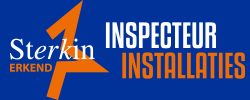 Sterk in inspecteur installaties